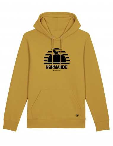 Hoodie Normande Proud Pomme moutarde