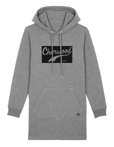 Robe hoodie Cherwood Reverse gris