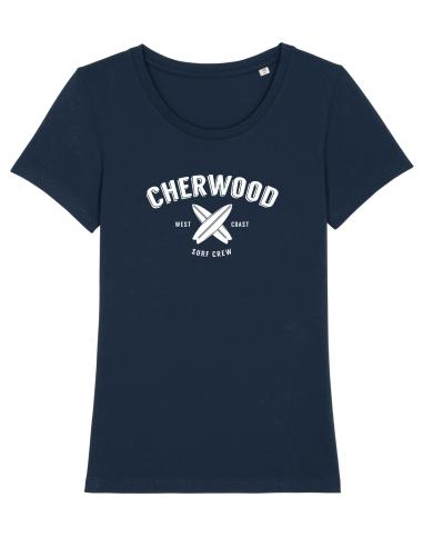 T-Shirt Femme Cherwood Surf Crew navy