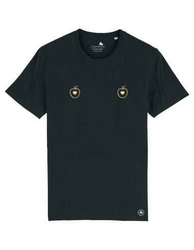 T-shirt Femme TchoutChou Pomme noir