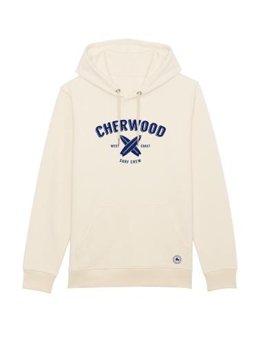 Hoodie Cherwood Surf Crew beige