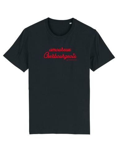 T-shirt Homme Amoureux Cherbourgeois noir