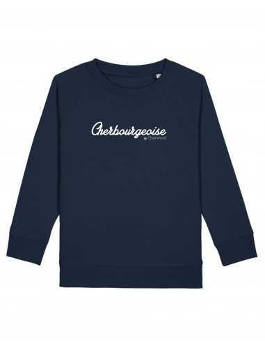 Sweat Fille Cherbourgeoise navy