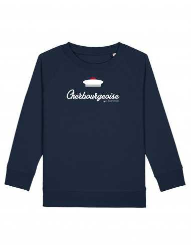 Sweat Fille Cherbourgeoise Bachi navy