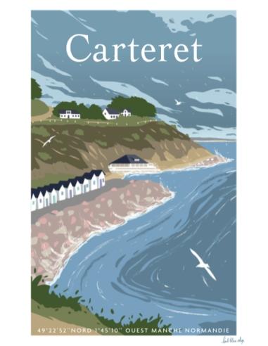 Carte Postale Carteret - Haute mer