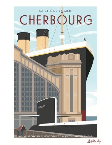Carte Postale Cherbourg - Cité de la Mer