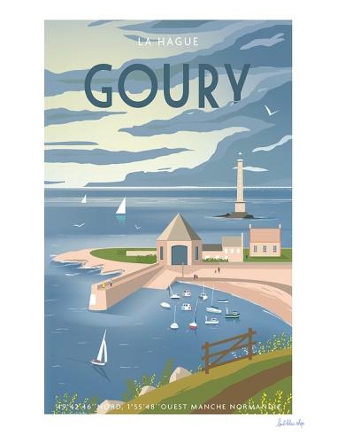 Carte Postale Goury